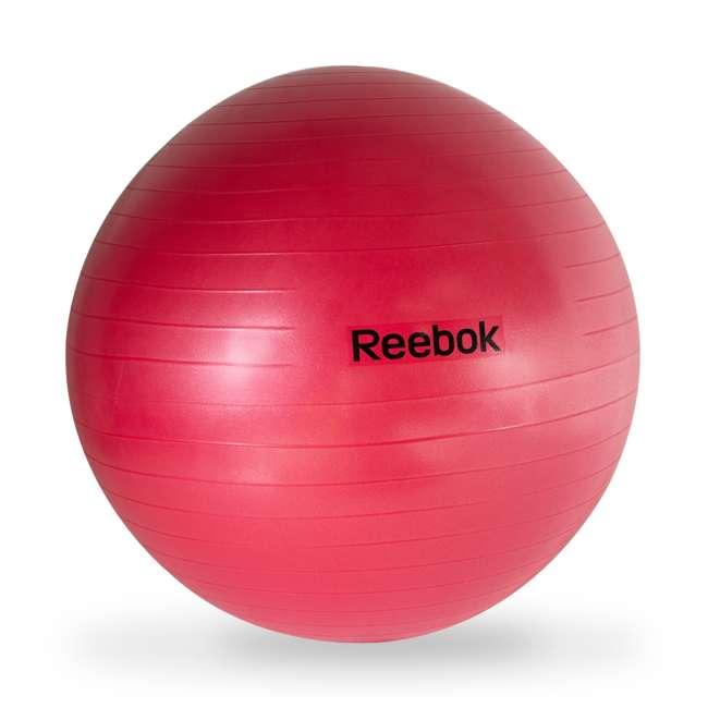 HHE-RE065RD REEBOK ANTI-BURST GYM BALL, RED
