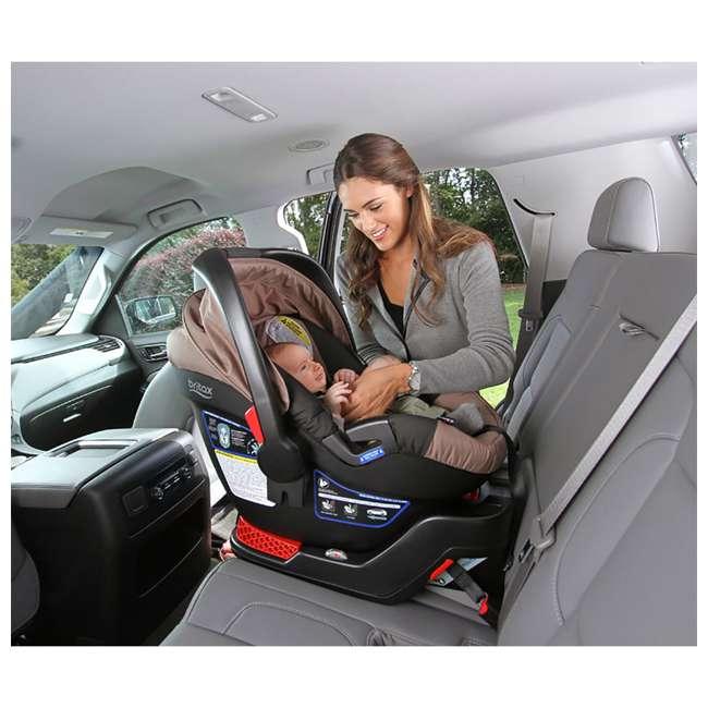 BRI-E1A726R-WMT2 Britax B-Safe 35 Infant Car Seat with Base, Slate Strie 1