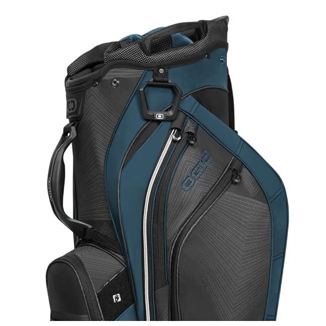 Ogio Grom 16 Way 2x Barrel Top Cart Golf Bag Vortex Deep