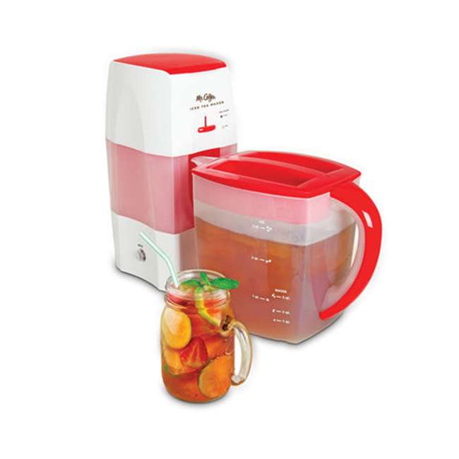 TM75RS_EGB-RB Mr. Coffee TM75RS 3 Quart Iced Tea and Coffee Maker, Red (Certified Refurbished) 4