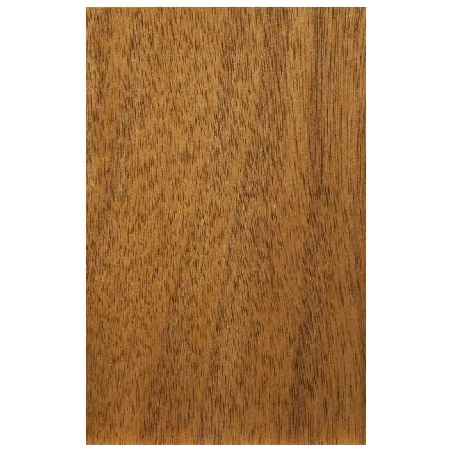 966-02 Alpine Furniture 966-02 Flynn Mid Century Modern 2 Drawer Nightstand, Acorn 3