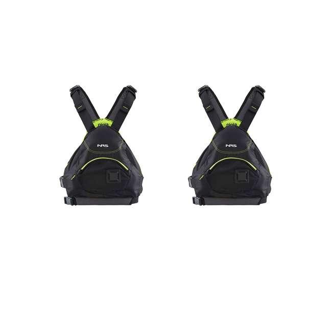 SE330K-DELUXE + 2 x NRS_40013_03_101 Sea Eagle Inflatable Kayak w/ NRS Life Vest (2 Pack) 2