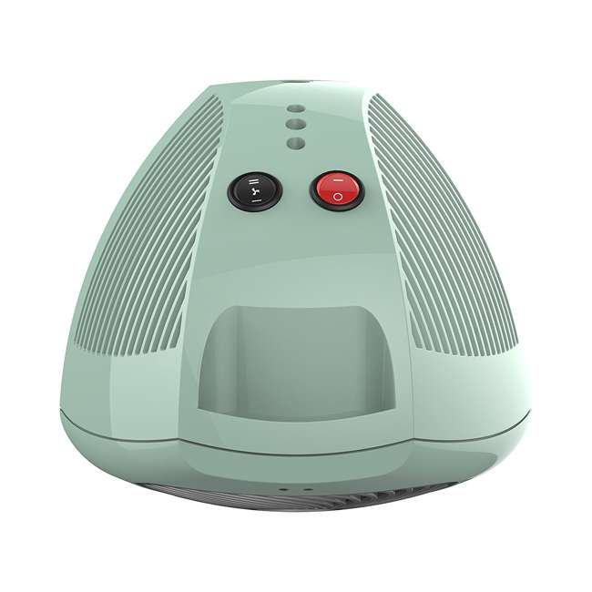 VH202-G Vornado Small Electric Personal Space Heater, Green  1