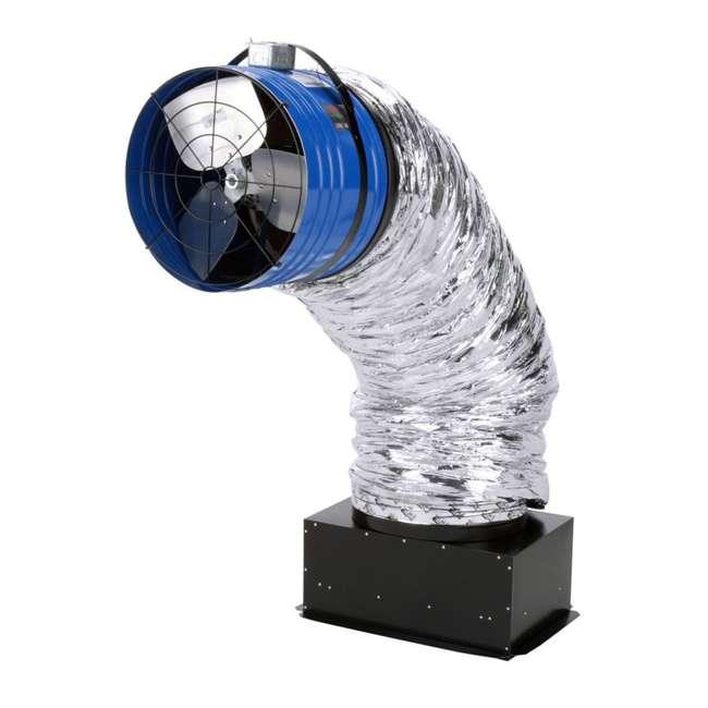 QC-CL-7000-U-D QuietCool Classic 7000 3470 Sq. Ft. Attic Cooling Ventilation Fan (Damaged) 2