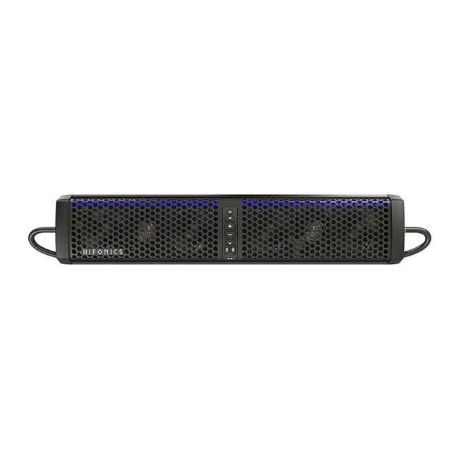 TPS6-U-B Hifonics Powered Bluetooth 6-Speaker ATV UTV Sound Bar w/ Integrated Amp (Used) 1