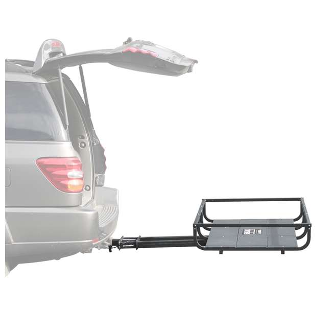 H01397 Let's Go Aero H01397 GearCage FP6 Slideout Hitch Rack w/ Silent Hitch Pin & LED 5