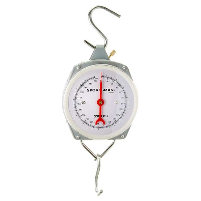 BFT-MS330 Buffalo Outdoors Hanging Hook Hunting Scale, 330 Pounds