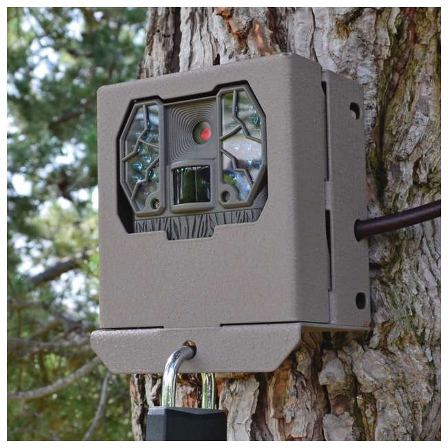 4 x STC-BBZX Stealth Cam BBZX Security Box for Game Cameras, 4 Pack 5