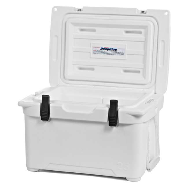 ENG25-OB Engel 25 High-Performance Roto-Molded Cooler, White (Open Box) 2
