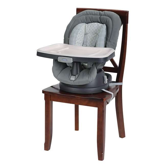 2002804 Graco 2002804 Swivi Seat 3-in-1 Baby Toddler Booster Seat with Tray, Brinley 3