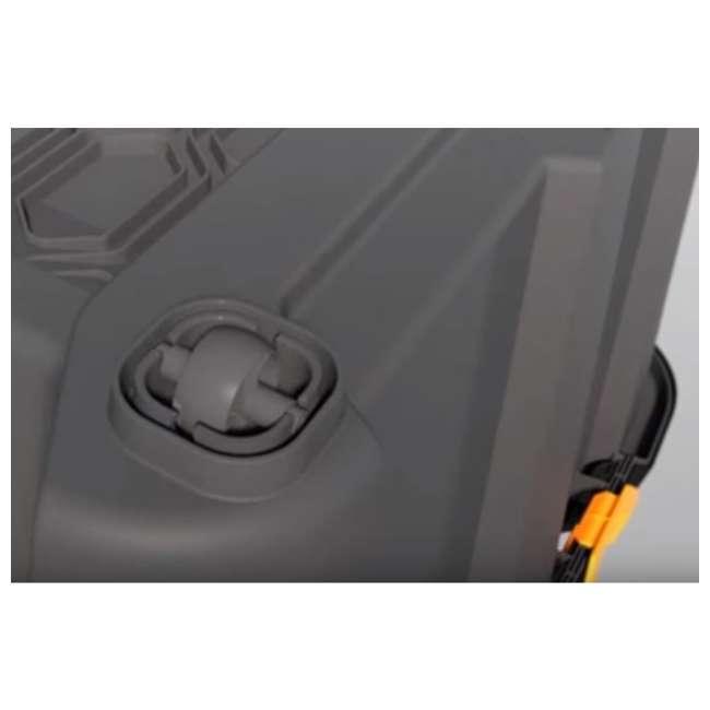 FBA31732 Ezy Storage 31732 Bunker 160 Liter Heavy Duty Storage Container Tub, Black/Gray 2