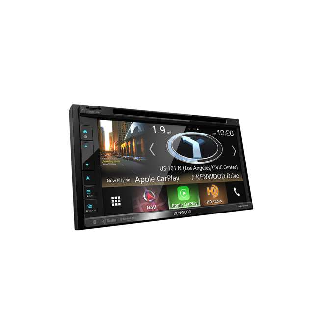 DNX575S Kenwood DNX575S 2-Din 6.8-Inch Multimedia Receiver with GPS 1