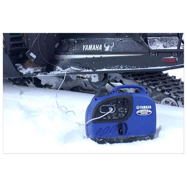 EF1000iS Yamaha EF2400iSHC 1000-Watt Portable Inverter, Blue   4