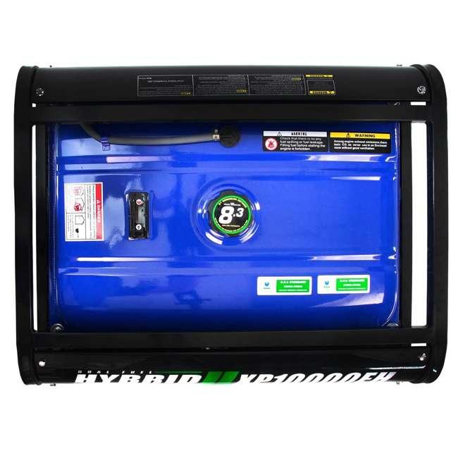 XP10000EH + XPLGC DuroMax 10000 Watt Hybrid Portable Generator & Generator Cover, Black 8