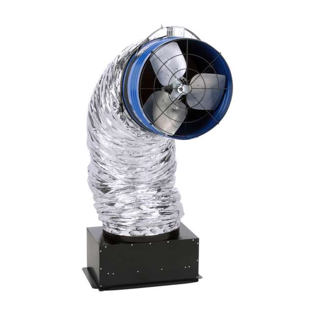 QC-CL-7000-U-D QuietCool Classic 7000 3470 Sq. Ft. Attic Cooling Ventilation Fan (Damaged)