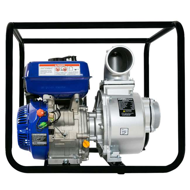 XP904WP DuroMax 9 HP 427 GPM 3,600 RPM 4-Inch Portable Water Pump (2 Pack) 11