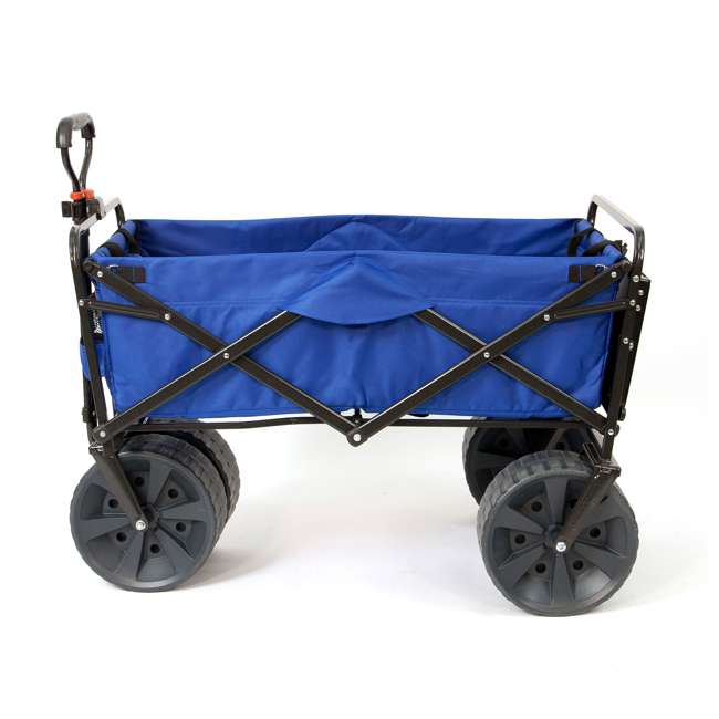 MAC-WTCB-107-BLUE-TABLE Mac Sports Collapsible Utility Wagon with Table (2 Pack) 4