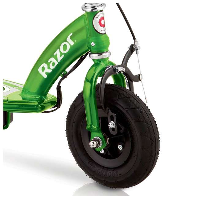 13111230 + 13111263 Razor E100 24 Volt Electric Powered Ride On Scooter, Green & Pink (2 Scooters) 4