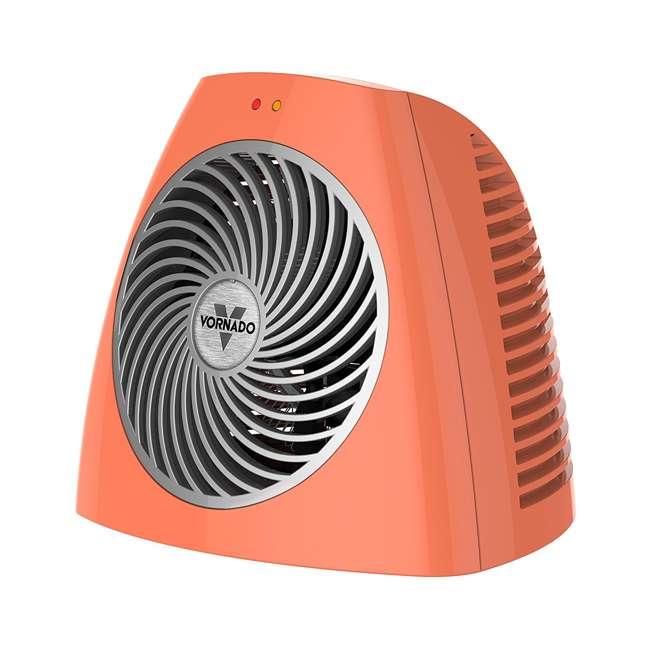 Vornado Small Electric Personal Space Heater, Orange : VH202-O