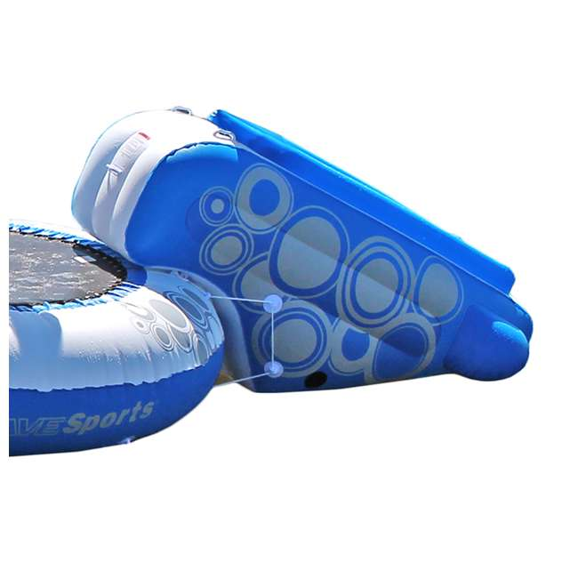 02438-RV Rave Sports O-Zone Plus Inflatable Water Trampoline with Slide 1