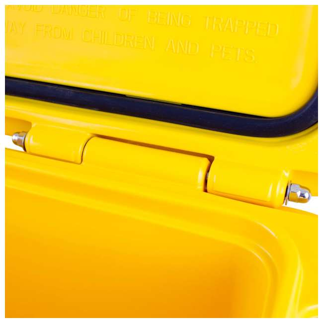 DXC65QT DeWalt 65 Quart Insulated Lunch Box Drink Cooler Roto Molded Portable, Yellow 5