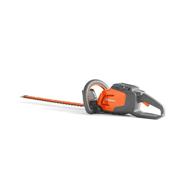 HV-BL-967094202 + HV-HT-967098602 40V Lithium Ion Leaf Blower w/ Electric 22 Inch 36 Volt Cordless Hedge Trimmer 7