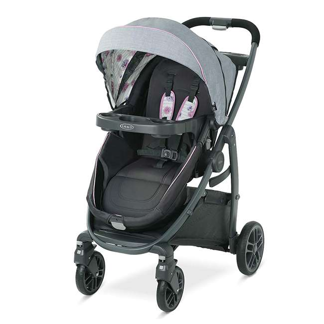 2083434 Graco Modes Bassinet Baby Stroller & Infant Car Seat Travel System, Carlee Pink 2