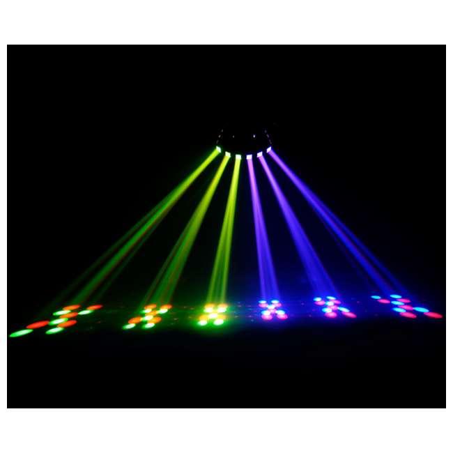 DERBY-X-RB Chauvet DJ Derby X 90-LED Rgb DMX-512 Strobe Light Pro Club Lighting Effect 7