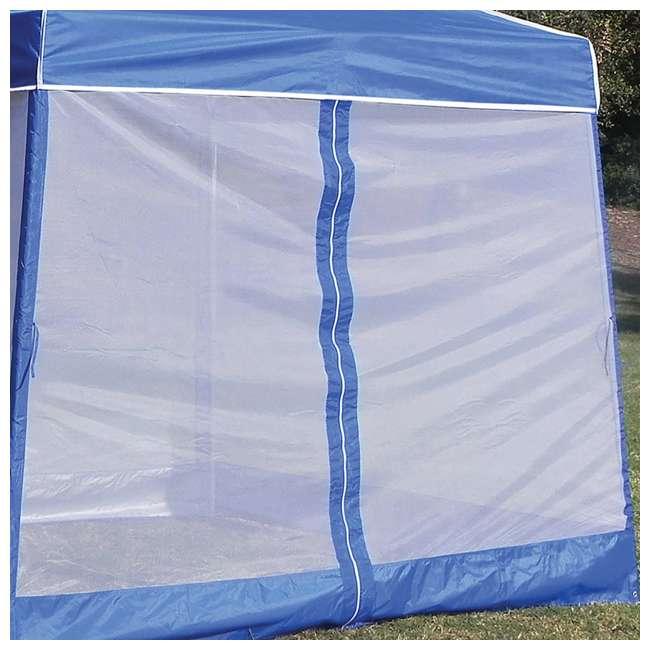 ZSB10INSTBL + ZS1SR10AL Z-Shade 10 x 10-Foot Horizon Shade Canopy with Screen Walls 9
