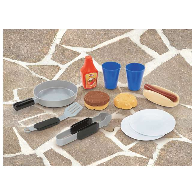 633911M Little Tikes Cook 'n Play BBQ Grill Set 3