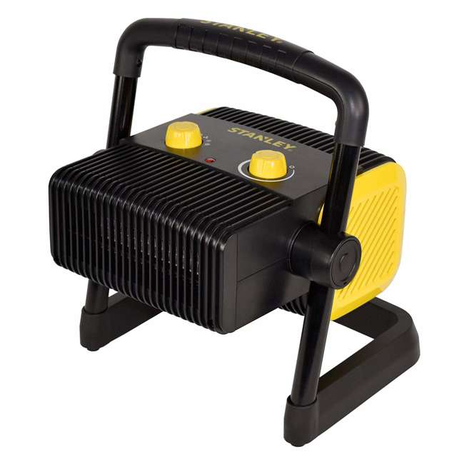 ST-300A-120 Stanley ST-300A-120 Heavy Duty 1500W Portable Forced Air Electric Heater, Black 1
