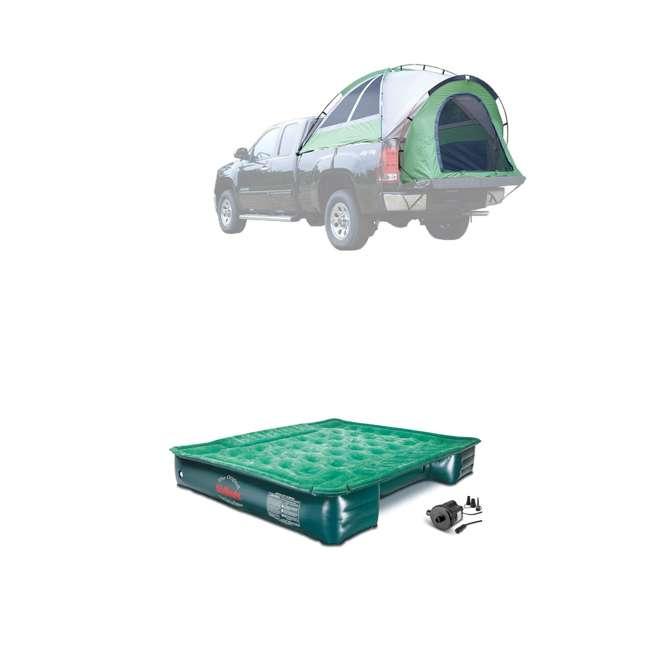 13100 + PPI PV203C Napier BackRoadz 13100 SUV Camping Tent w/ GreenAirBedz Inflatable Pickup Truck Bed Air Mattress
