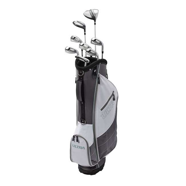 WGGC43300 Wilson Ultra Ladies Right-Handed Golf Club Set with Cart Bag