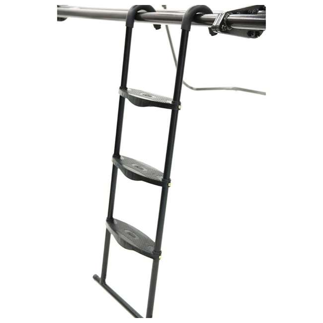 ACC-LDR03-001 SkyBound 3 Step Powder Coated Trampoline Ladder 2