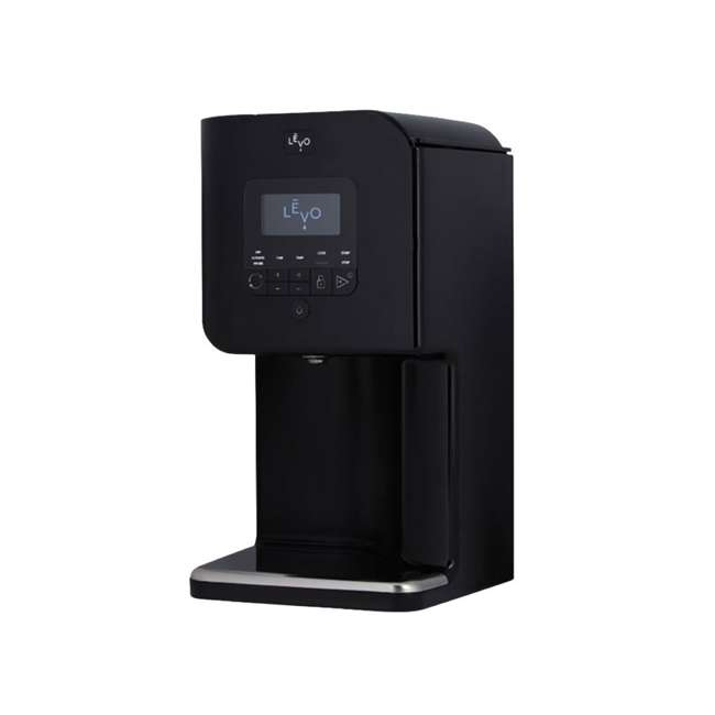 LEVO2-BLK LEVO II Herbal Oil Infusion Machine Botanical Activator and Herb Dryer, Black