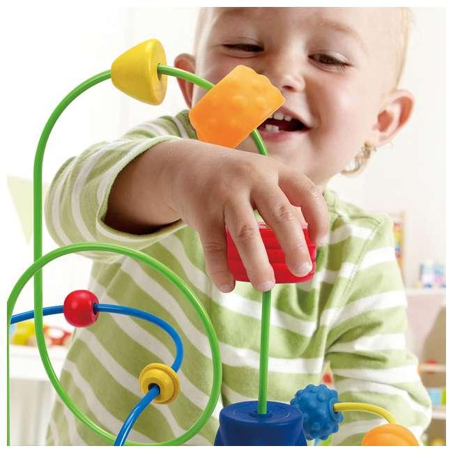 HAP-E1806 Hape Children's Countdown Activity Wooden Bead Maze Toy 3