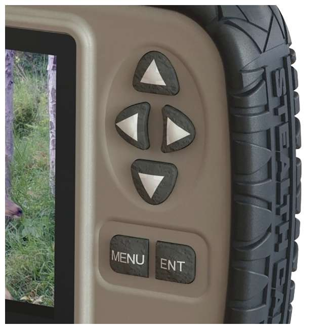 """STC-CRV43-U-C Stealth Cam 4.3"""" LCD Game Photo Viewer & SD Card Reader for Hunting (For Parts) 2"""