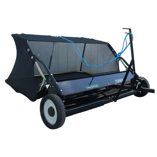 """YARD-YTF-38STQA Yard Tuff 38"""" Quick Assembly Tow Style Lawn Sweeper for Debris, Leaves, & More 2"""