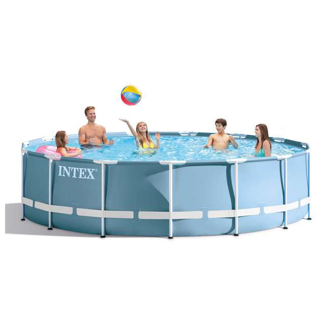 Intex 15 X 33 Quot Prism Frame Above Ground Pool Set 28721eh