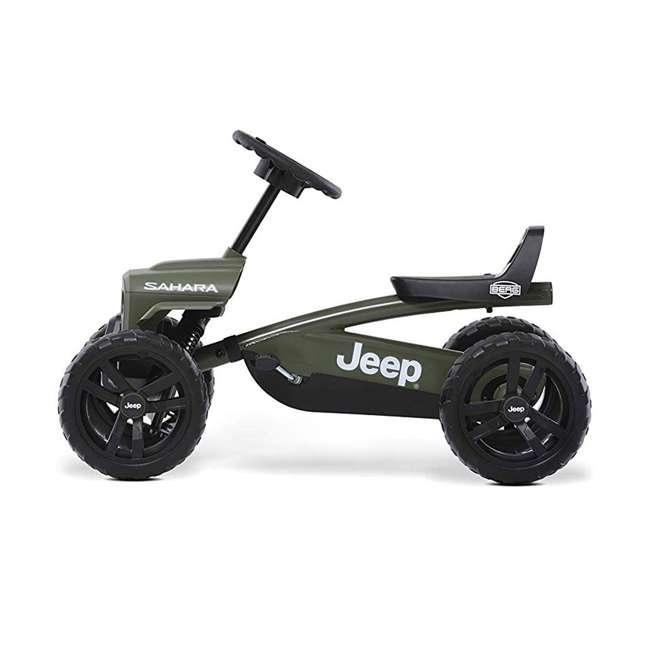 24.30.12.00 BERG Toys Jeep Buzzy Sahara Pedal Powered Kids Adjustable Go Kart 1