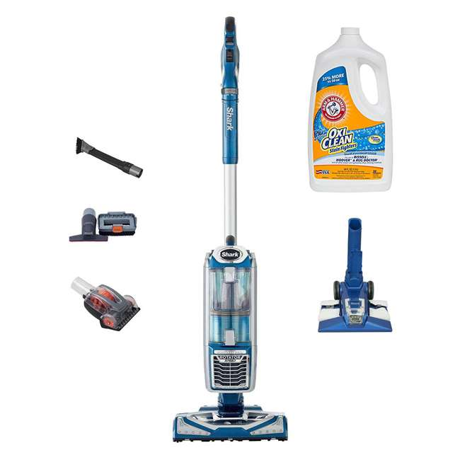 NV682 + 69944A Shark Rotator 2-in-1 Upright Vacuum & OxiClean Carpet Washer