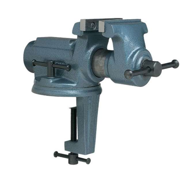 WIL-63247 Wilton 63247 Cbv-100, Super-Junior Vise, 4-Inch Jaw Width, 2-1/4-Inch Jaw Opening