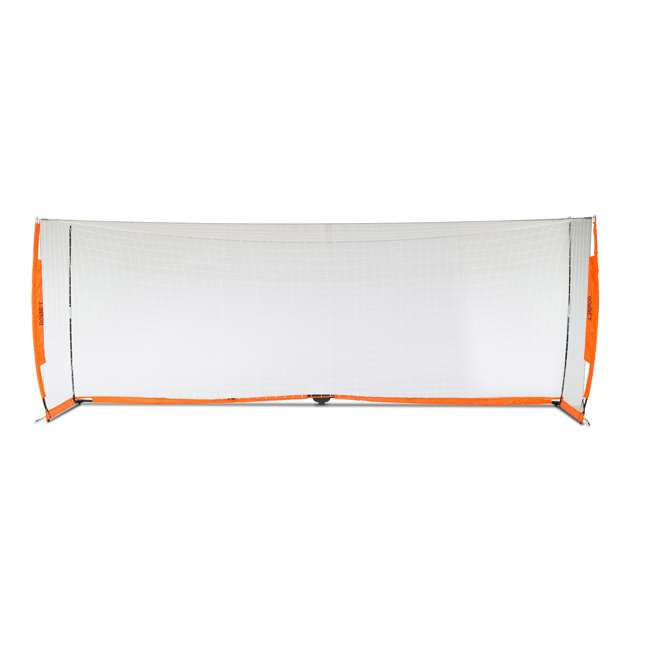 Bow6.6x18.5 Bownet 6.6' x 18.6' Portable Training Practice Soccer Goal (2 Pack) 3