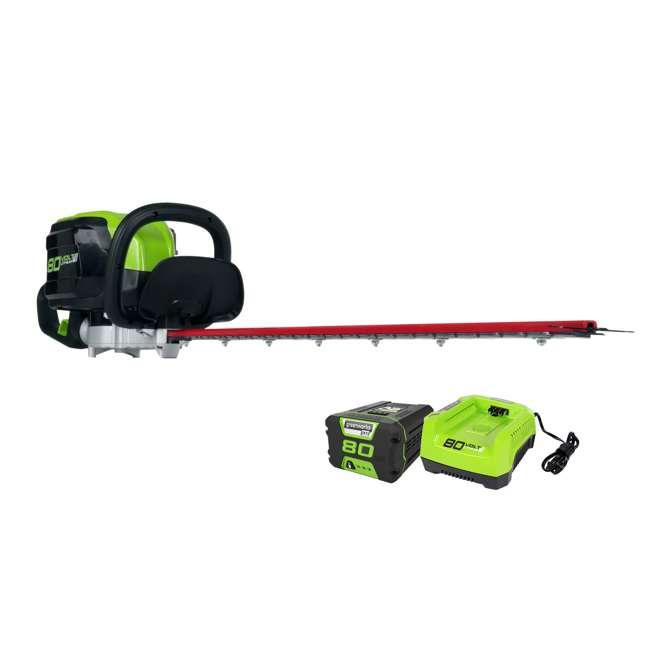 Greenworks 80v Digipro Hedge Trimmer Ght80321