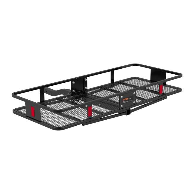 CURT-18153-U-B Curt Vehicle Folding Basket Style Cargo Carrier for up to 500 Lbs(Used) (2 Pack) 3