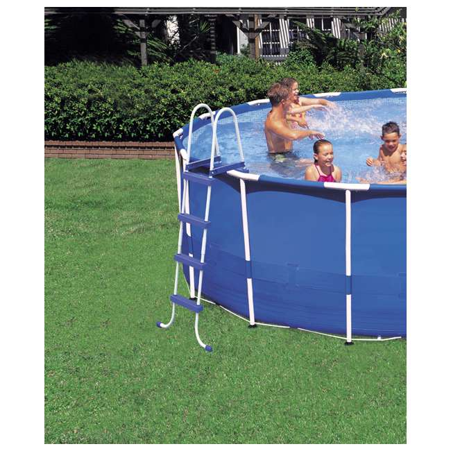 "28241EH-U-A Intex 15' x 48"" Above Ground Pool Set w/ Pump Cover&Ladder(Open Box) (2 Pack) 2"