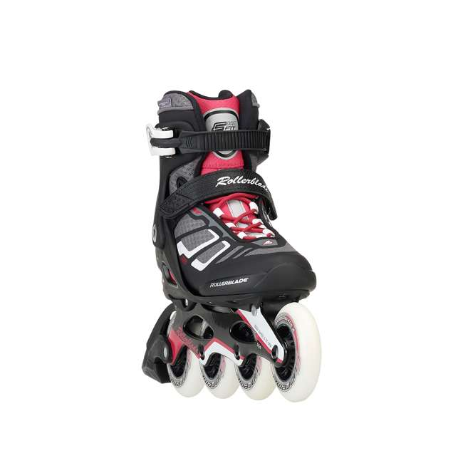 077341009V1-8 Rollerblade USA Macroblade 90 Women's Adult Fitness Inline Skates Size 8, Red 2