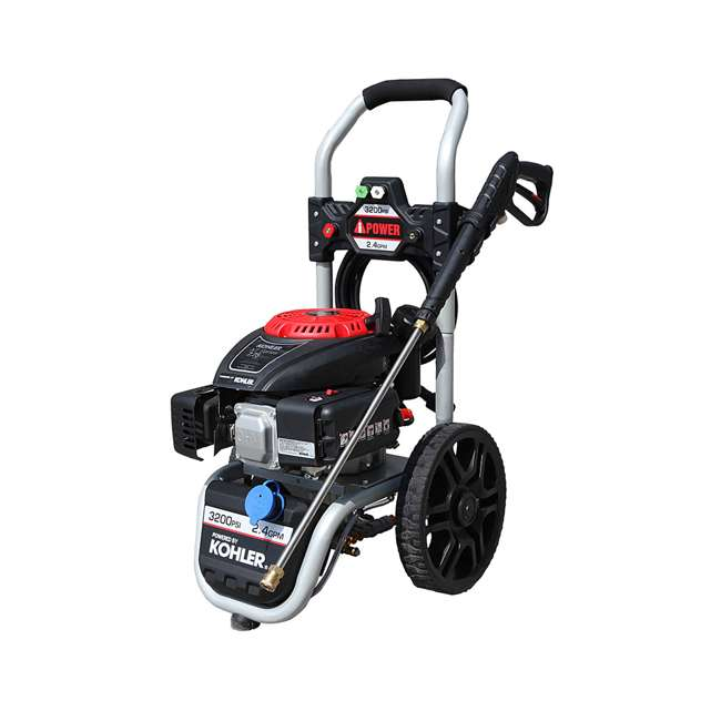 APW3200K A-iPower AWP3200K 3,200 PSI at 2.4 GPM Pressure Washer