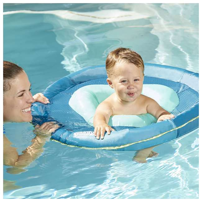 SSP10152 Aqua Leisure SwimSchool 6 to 24 Months BabyBoat, Aqua 3