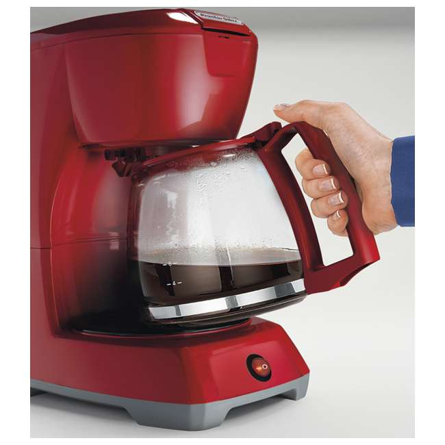 43603 Proctor Silex 43603 12-Cup Coffee Maker | Red 2